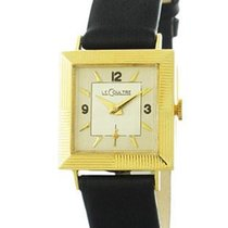 Jaeger-LeCoultre Pre-Owned 14K Yellow Gold Art Deco Style...