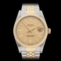 Rolex Oyster Perpetual Date Stainless Steel & 18k Yellow...