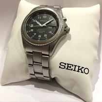 Seiko Kinetic Steel 40mm Black Arabic numerals United Kingdom, London