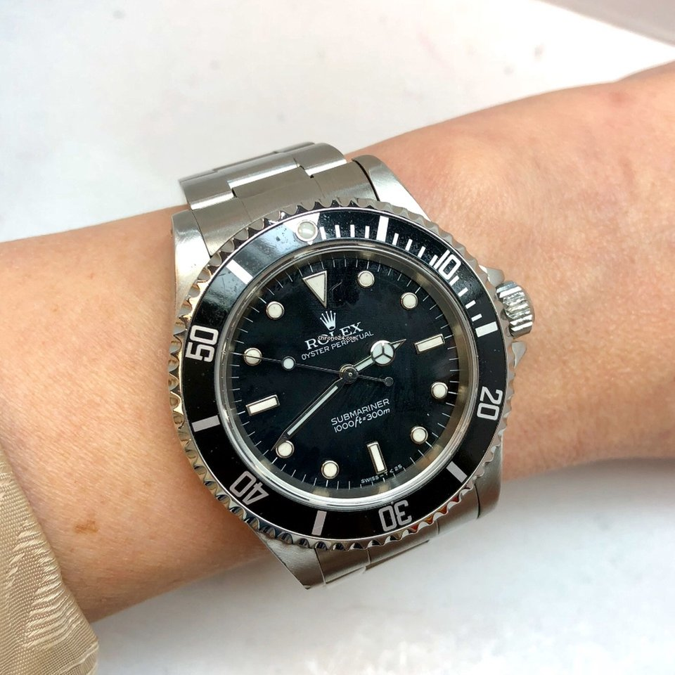 Rolex OYSTER PERPETUAL SUBMARINER 1000ft\u003d300M