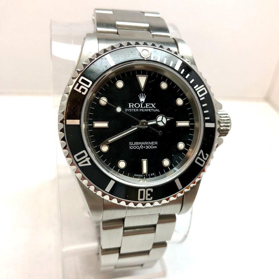 8b23dac21ef Rolex OYSTER PERPETUAL SUBMARINER 1000ft 300M Men s Watch No Date for   8