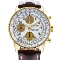 Breitling Old Navitimer Yellow gold 41.5mm Silver United States of America, Georgia, Atlanta