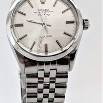 Rolex Air King Precision Steel 34mm Silver No numerals United States of America, Colorado, Wellington