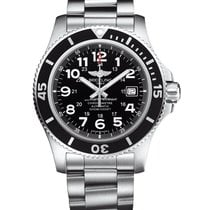 Breitling Superocean II 44 Steel 44mm Black Arabic numerals United States of America, New York, New York