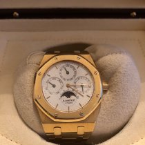 Audemars Piguet Royal Oak Perpetual Calendar Yellow gold 39mm White