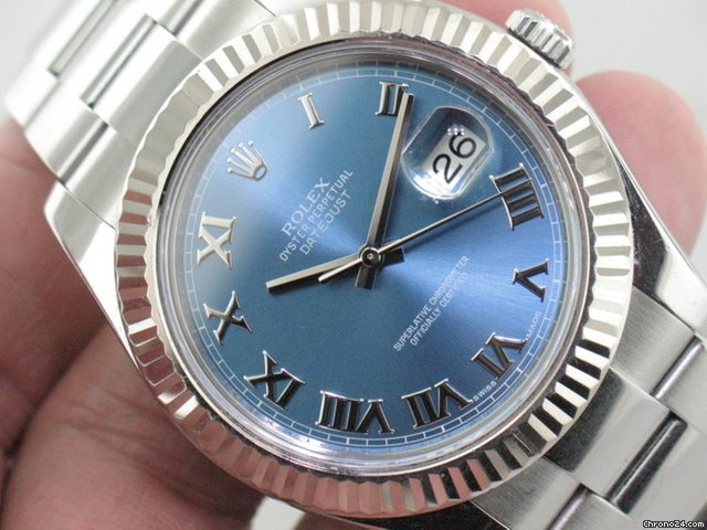62205010494 Rolex Datejust II Stainless Steel Reference 116334 for ฿247
