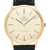 Omega Seamaster DeVille Yellow gold Silver