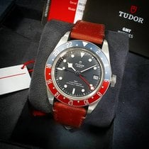 Tudor Black Bay GMT Сталь 41mm Чёрный