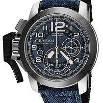 Graham Chronofighter Oversize new Automatic Chronograph Watch with original box and original papers 2CCAC.U04A.T33B