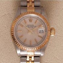 Rolex Lady-Datejust Steel 26mm Silver No numerals
