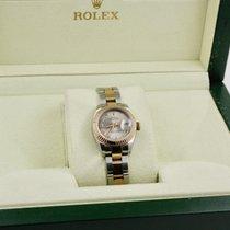 Rolex Lady-Datejust Gold/Stahl 26mm Silber Römisch