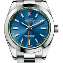 Rolex Milgauss Steel 40mm Blue No numerals United States of America, New Jersey, Woodbridge
