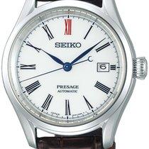 Seiko Presage Сталь 40.5mm Белый