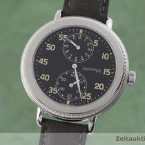 Eberhard & Co. Ατσάλι 35.5mm Χειροκίνητη εκκαθάριση 31031 μεταχειρισμένο