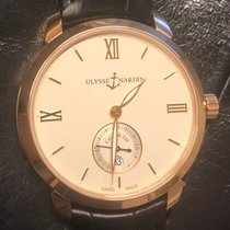 Ulysse Nardin Rose gold 3206-136-2/31 new