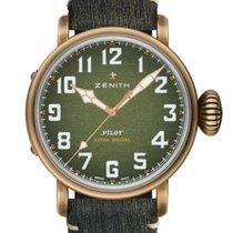 Zenith Pilot Type 20 neu 2021 Automatik Uhr mit Original-Box und Original-Papieren 29.2430.679/63.I001