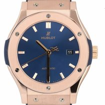 Hublot Classic Fusion Blue 542.OX.7180.LR 2010 pre-owned
