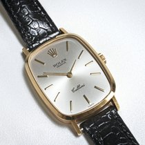 Rolex usado Corda manual 33mm Ouro