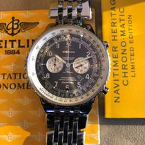 Breitling Navitimer Heritage Staal 43mm Grijs