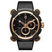 Romain Jerome Moon-DNA Acero y oro 46mm Negro