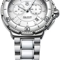 TAG Heuer Formula 1 Lady Steel 45.1mm White United States of America, New York, Brooklyn