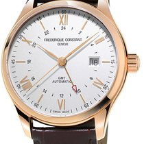 Frederique Constant Classics Index GMT Silver United States of America, New York, Brooklyn