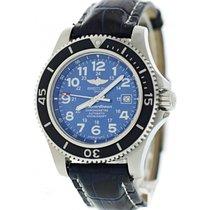 Breitling Superocean II A17392 Blue Dial