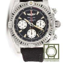 Breitling Chronomat 41 Staal 41mm Zwart Geen cijfers