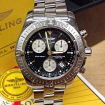 Breitling Colt Chronograph A73380 Black Dial - Box & Papers 2008