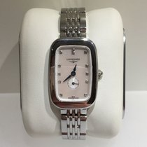 Longines Equestrian L6.141.4.87.6 Longines  EQUESTRIAN Madreperla Diamanti new
