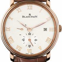 Blancpain 6606-3642-55b Or rose Villeret Ultra-Plate 40mm nouveau