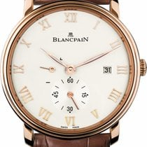 Blancpain Villeret Ultra-Slim new Manual winding Watch only 6606-3642-55b