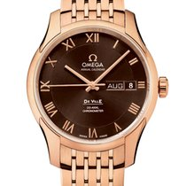 Omega De Ville Co-Axial Oro rosa 41mm Marrón