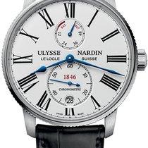 Ulysse Nardin 1183-310/40 Acier Marine Torpilleur nouveau