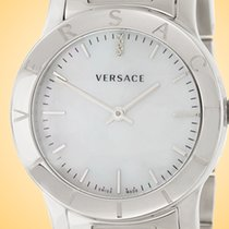 Versace Steel 33mm Quartz VQA080017 new