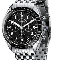 Zeno-Watch Basel Acier 40mm Remontage manuel nouveau