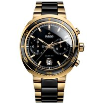 Rado D-Star 200 Men's Automatic Two-Tone Gold Watch R15967162...
