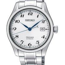 Seiko Presage Steel 40,5mm White Arabic numerals