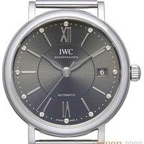 IWC Portofino Automatic Сталь 37mm Cерый Без цифр