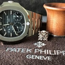 Patek Philippe Nautilus Steel 40mm Blue No numerals United Kingdom, London