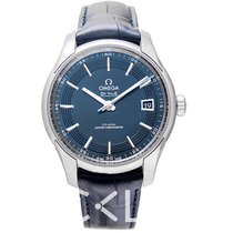 Omega De Ville Hour Vision Acier 41mm Bleu