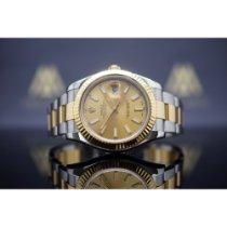 Rolex Datejust II gebraucht 41mm Gold/Stahl