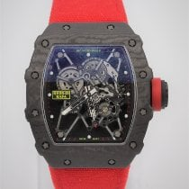 Richard Mille Carbone 49.94mm Remontage manuel RM35-01 occasion