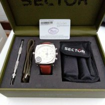 Sector Steel 55mm Quartz 14756 pre-owned