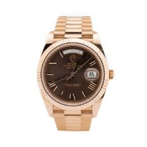Rolex Day-Date 40 Rose gold 40mm White