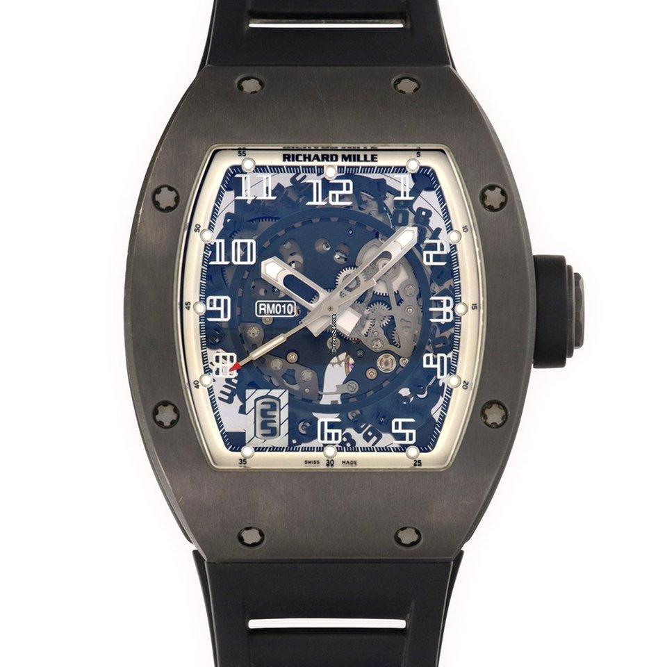 Richard Mille Skeletonized Paris Boutique RM10 Watch, Limited to 10 Pieces