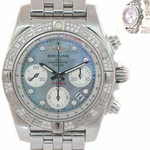 Breitling Chronomat 41 Steel 41mm Mother of pearl United States of America, New York, Huntington