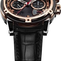 Louis Moinet Gold/Steel Automatic LMV-30.40.55 new