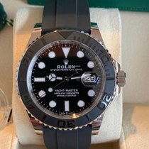 Rolex Yacht-Master 42 White gold 42mm Black No numerals UAE, Dubai