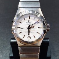 Omega Steel Automatic Silver 27mm new Constellation Ladies